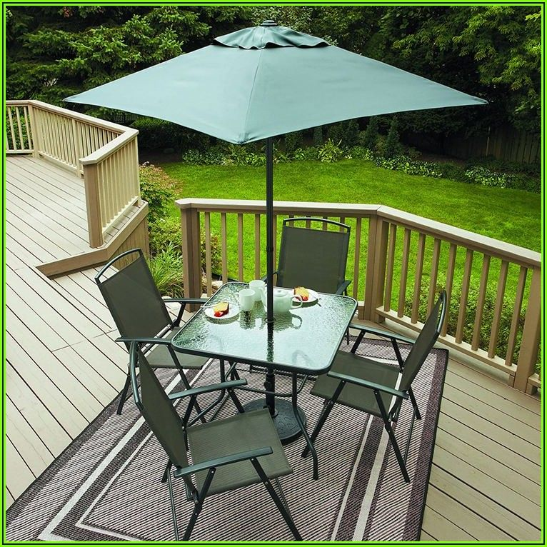 6 Piece Folding Patio Set