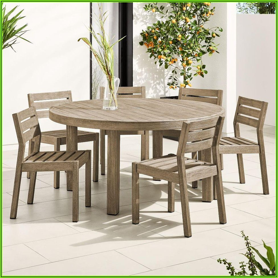 60 Round Patio Table Set
