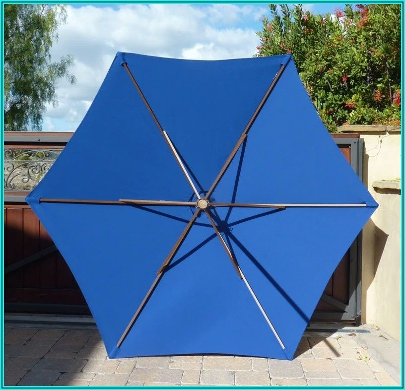 7 Ft Patio Umbrella Replacement Canopy 6 Ribs