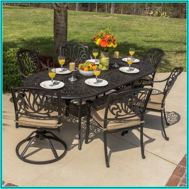 7 Piece Aluminum Patio Set