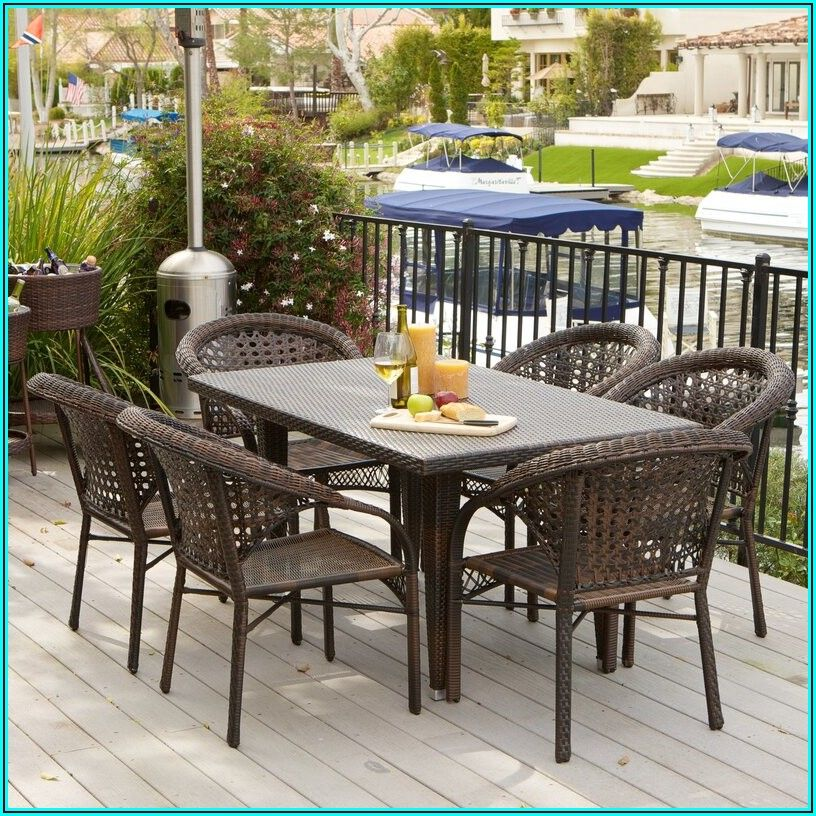 7 Piece Outdoor Patio Dining Sets