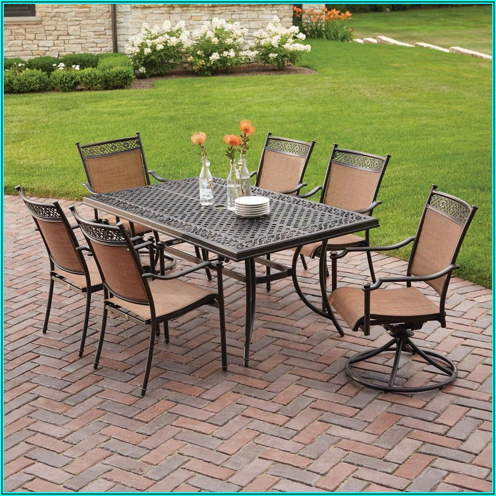 7 Piece Sling Patio Dining Set