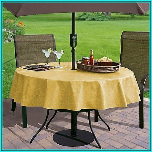 70 Inch Round Patio Table