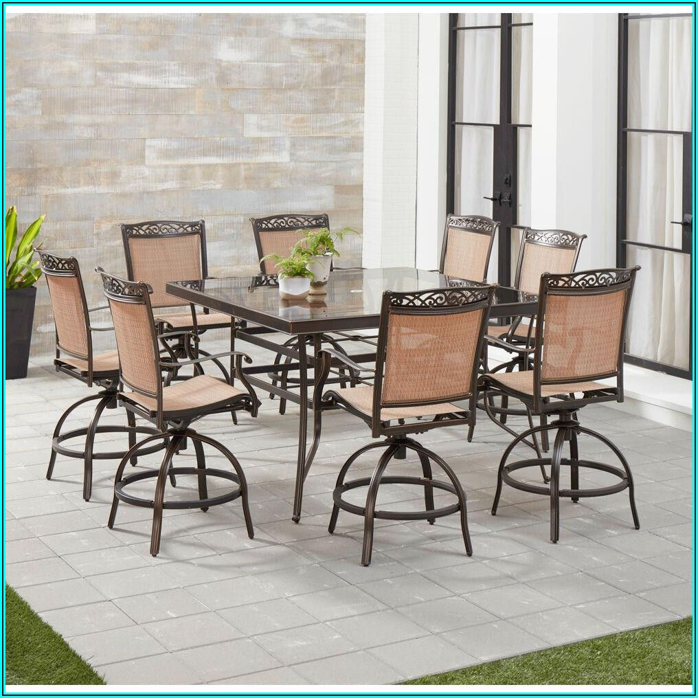 8 Chair Patio Dining Set