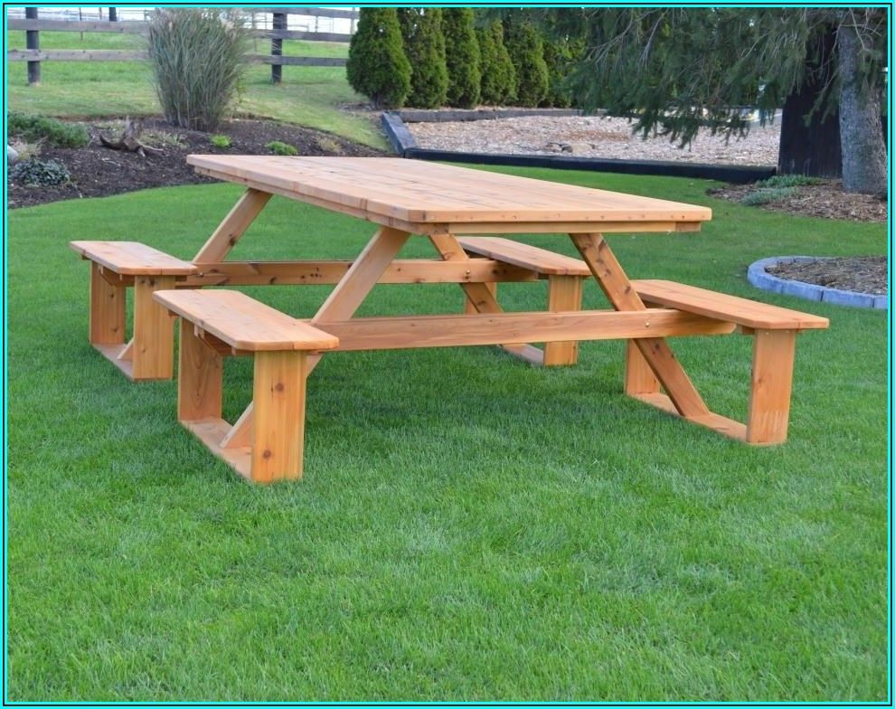 8 Foot Patio Table
