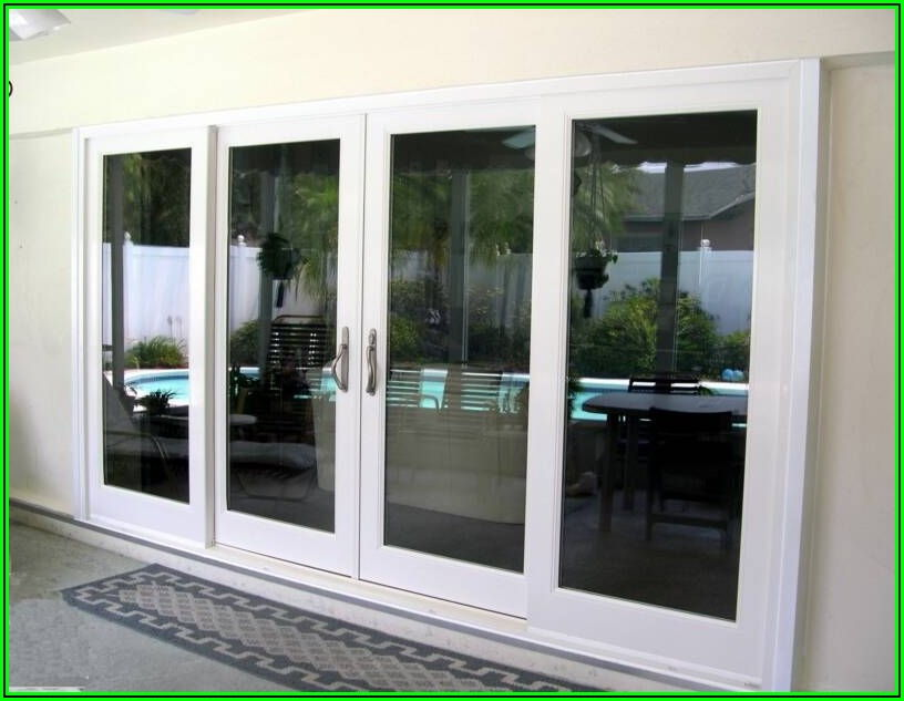 8 Foot Sliding Patio Door
