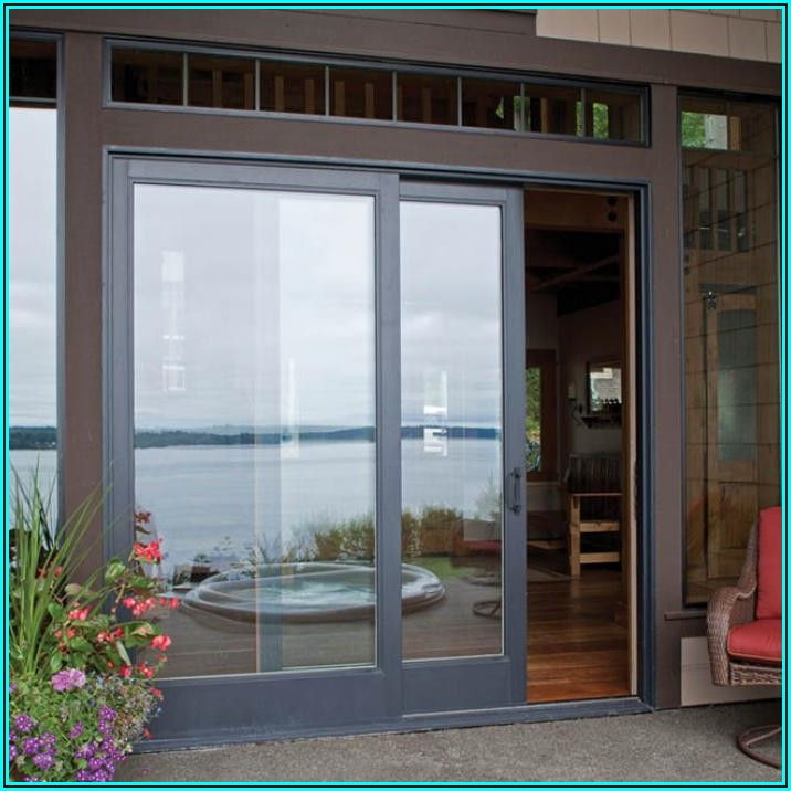 8 Foot Vinyl Sliding Patio Doors