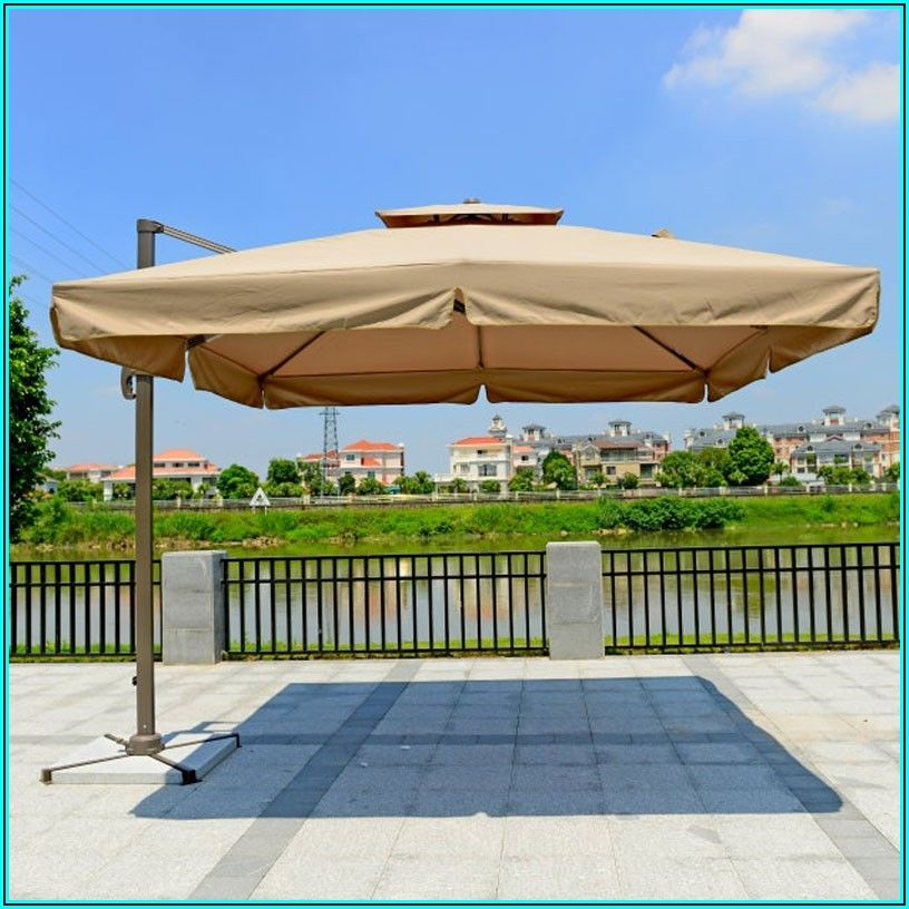 8 Ft Cantilever Patio Umbrella