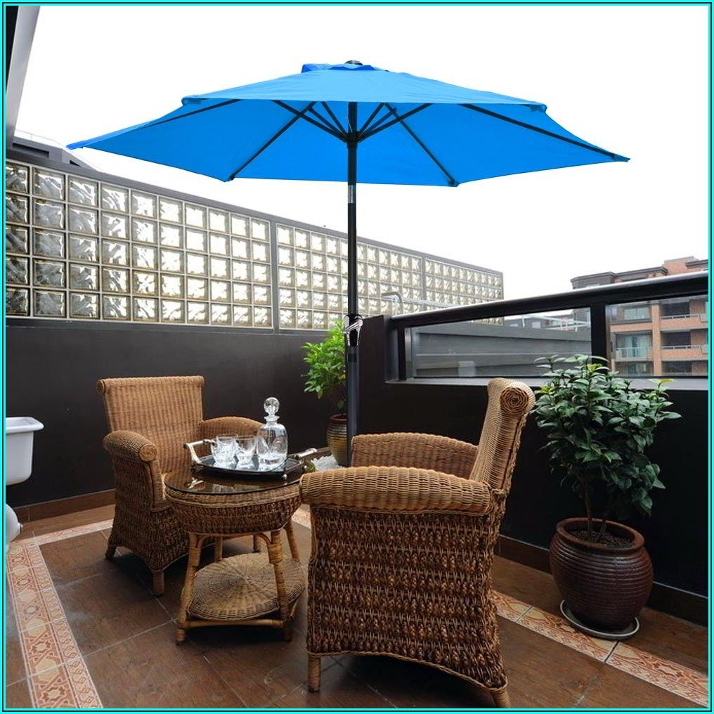 8 Ft Outdoor Patio Umbrella