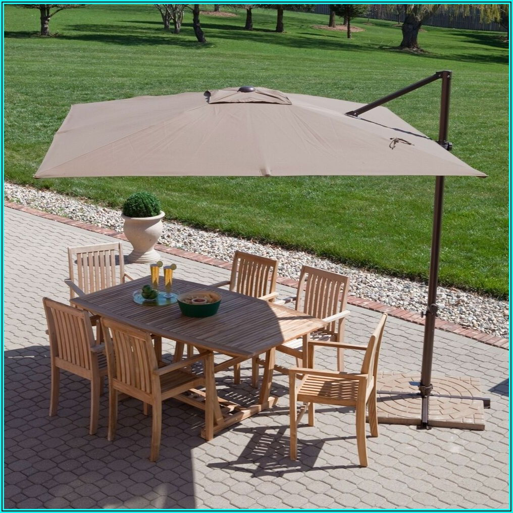 8 Offset Patio Umbrella