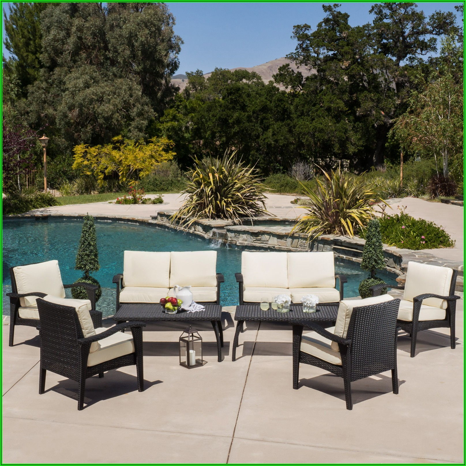 8 Piece Patio Furniture Sets