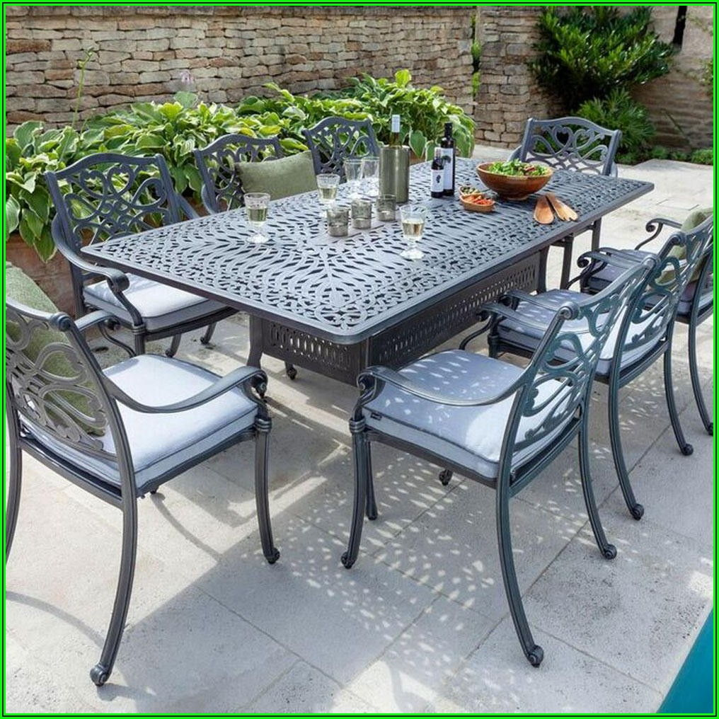 8 Seat Patio Dining Table