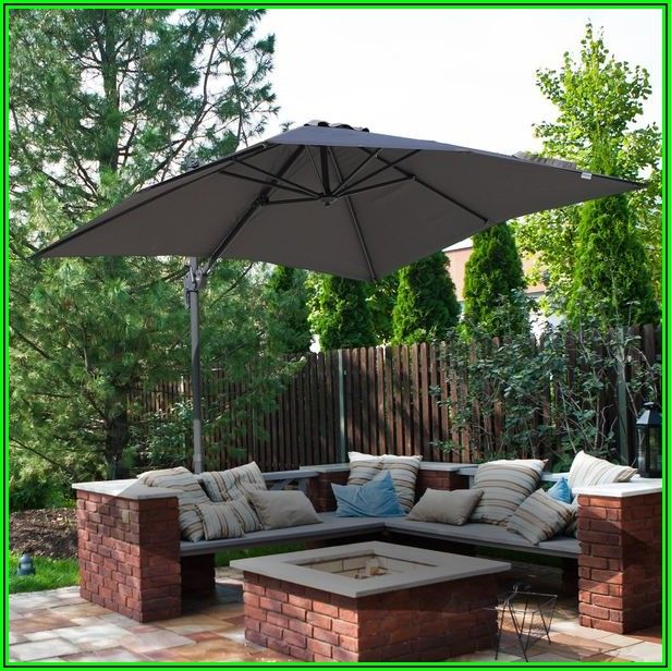 8 Square Patio Umbrella