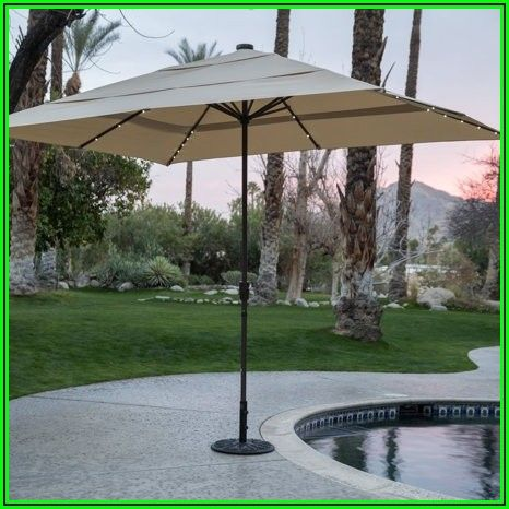 8 X 11 Rectangular Patio Umbrella