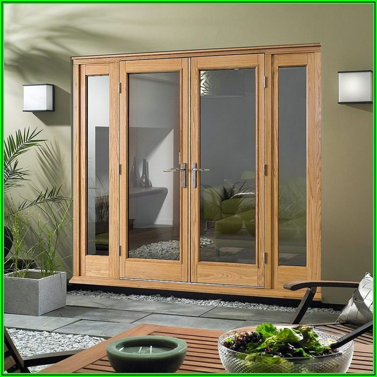 9 Foot 3 Panel Sliding Patio Door
