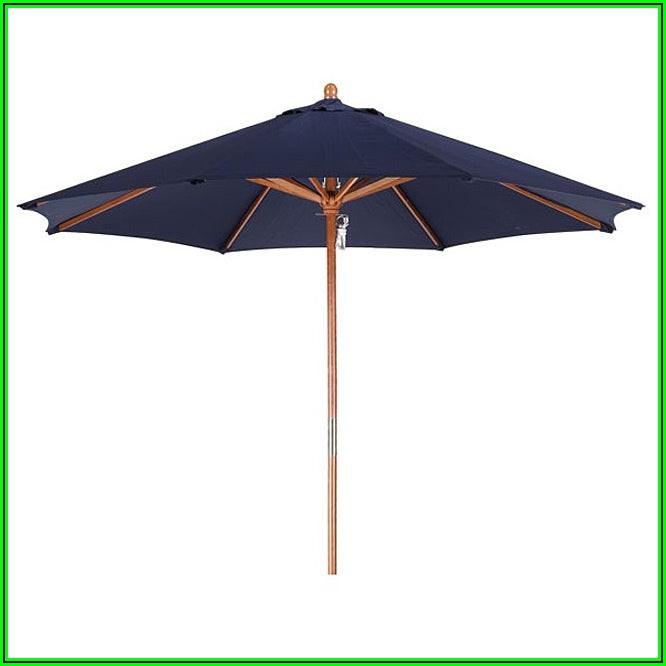 9 Foot Navy Patio Umbrella