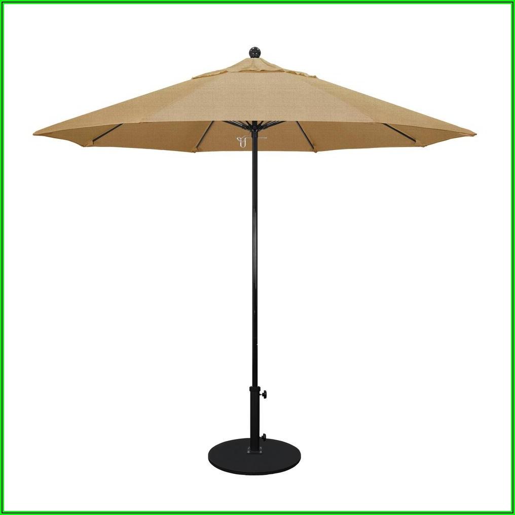9 Ft Black Patio Umbrella