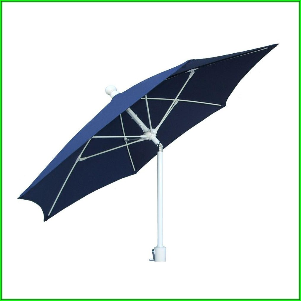 9 Ft Navy Blue Patio Umbrella