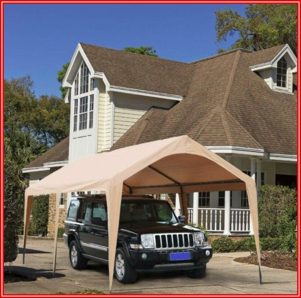 Abba Patio 10 X 20 Ft Carport Canopy