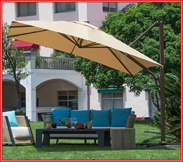 Abba Patio Offset Cantilever Umbrella