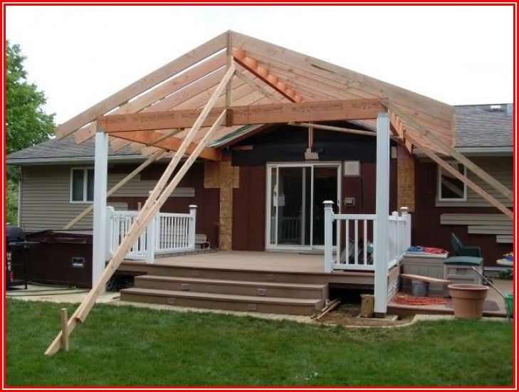 Add Patio Roof To House
