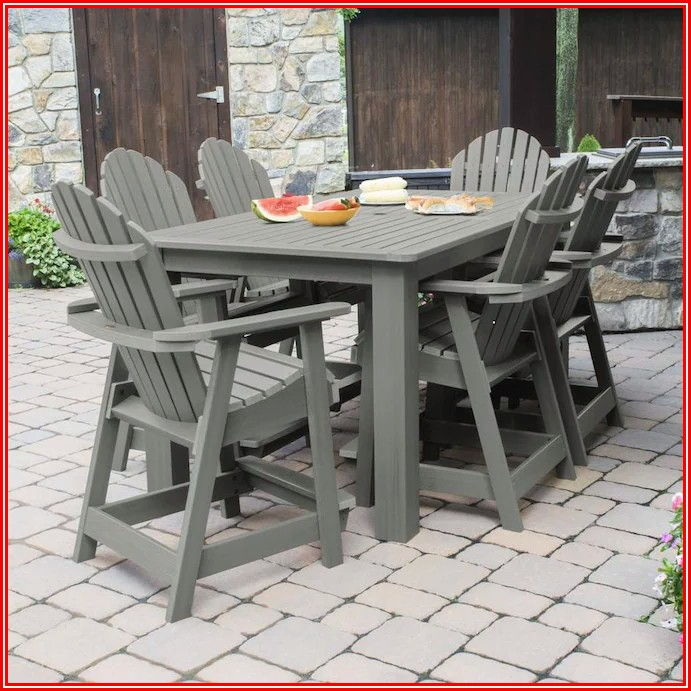 Adirondack High Top Patio Set