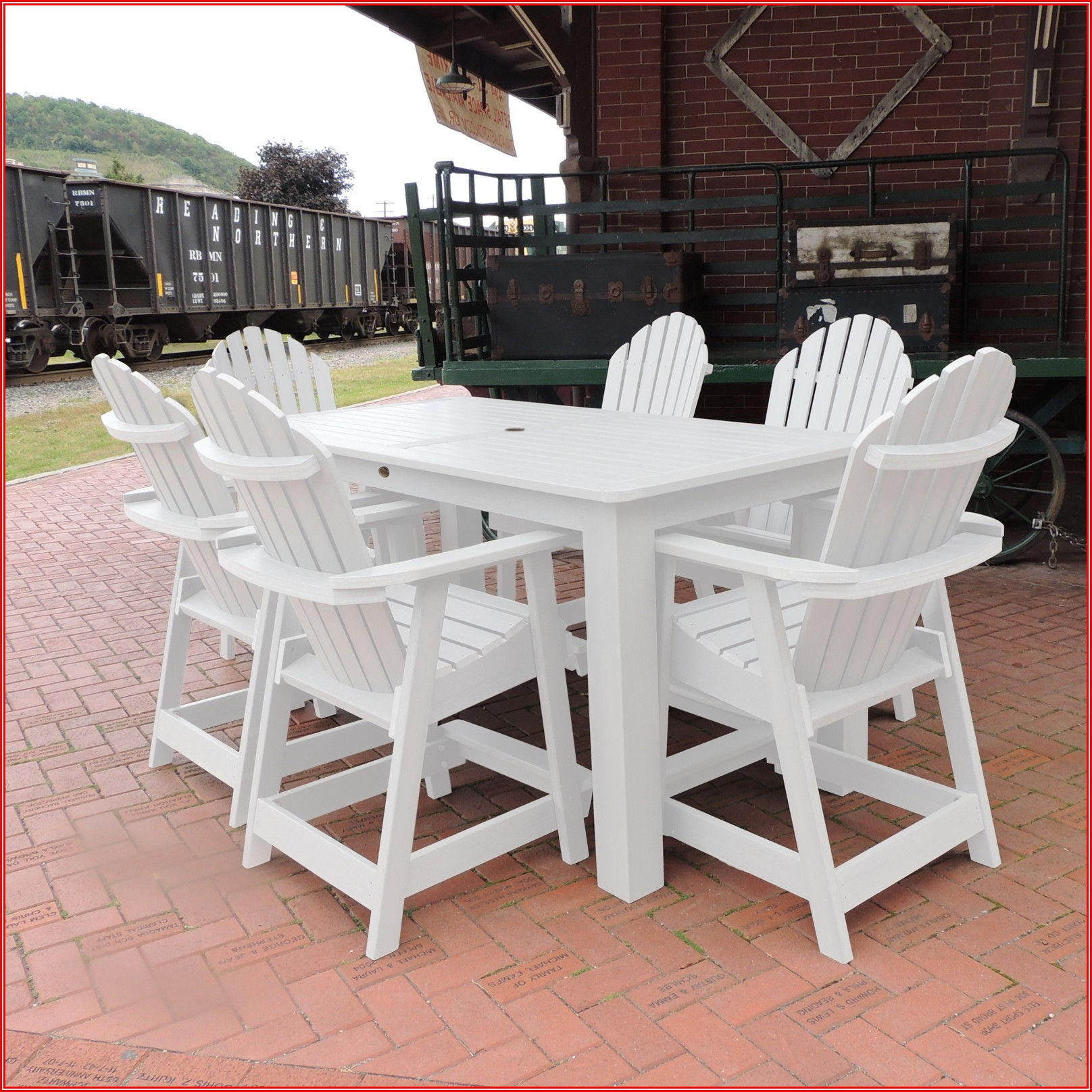 Adirondack Patio Dining Set