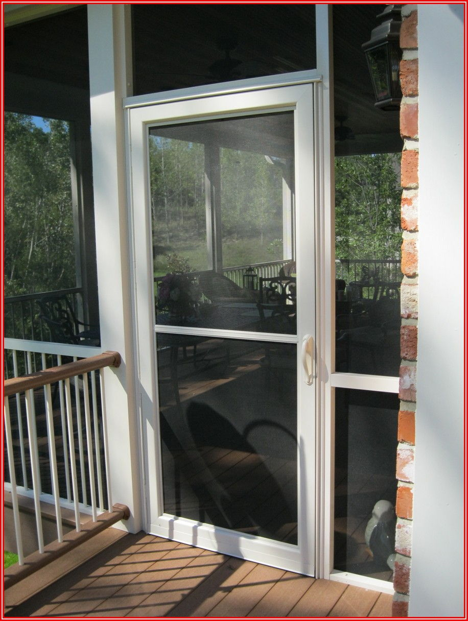 Adjustable Fit Sliding Patio Screen Door
