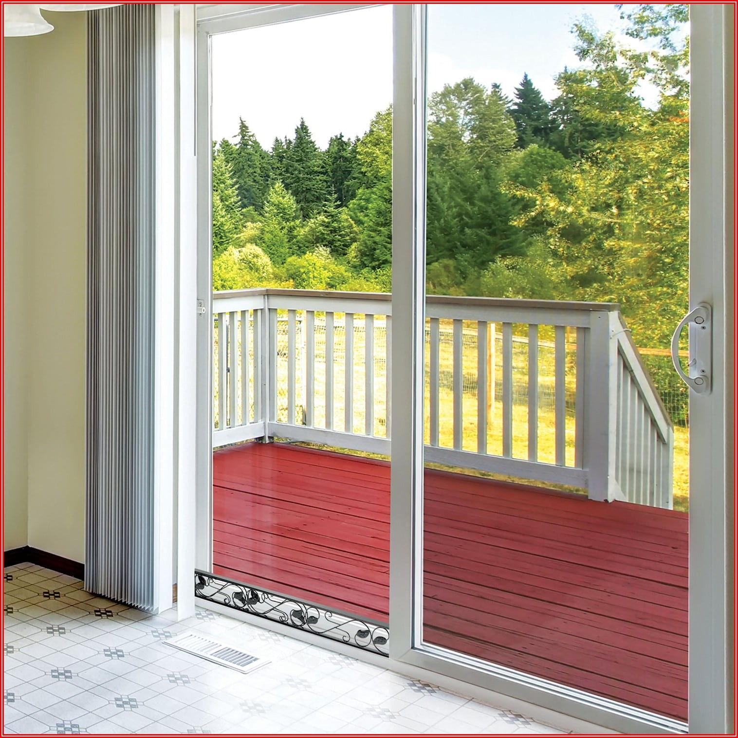 Adjustable Patio Door Security Bar