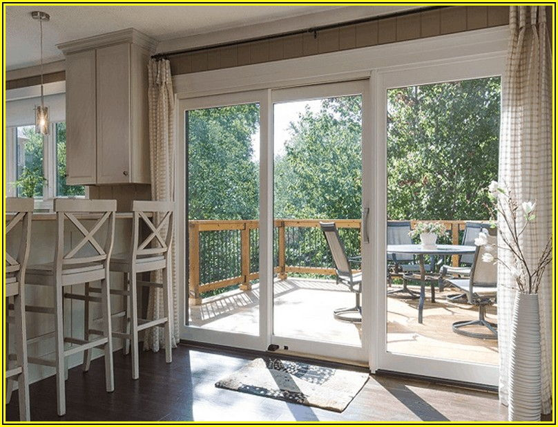 All Glass Sliding Patio Doors