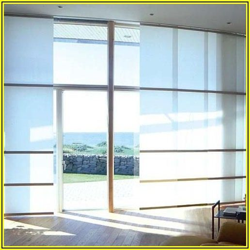 Alternative To Vertical Blinds For Sliding Patio Doors