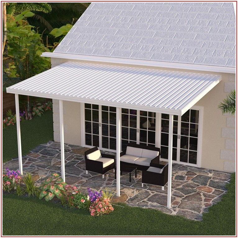 Aluminum And Polycarbonate Patio Cover