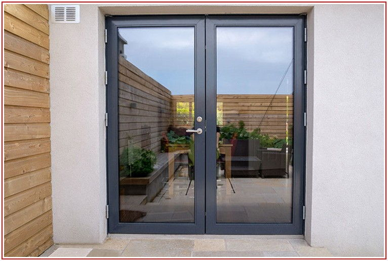 Aluminum Clad French Patio Doors