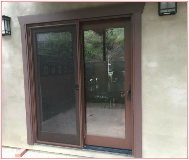 Aluminum Clad Sliding Patio Doors