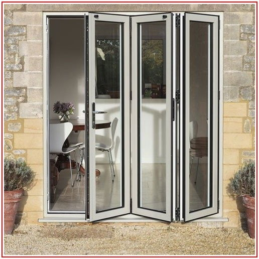 Aluminum Folding Patio Doors