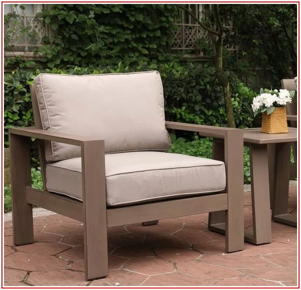 Aluminum Patio Chairs With Cushions