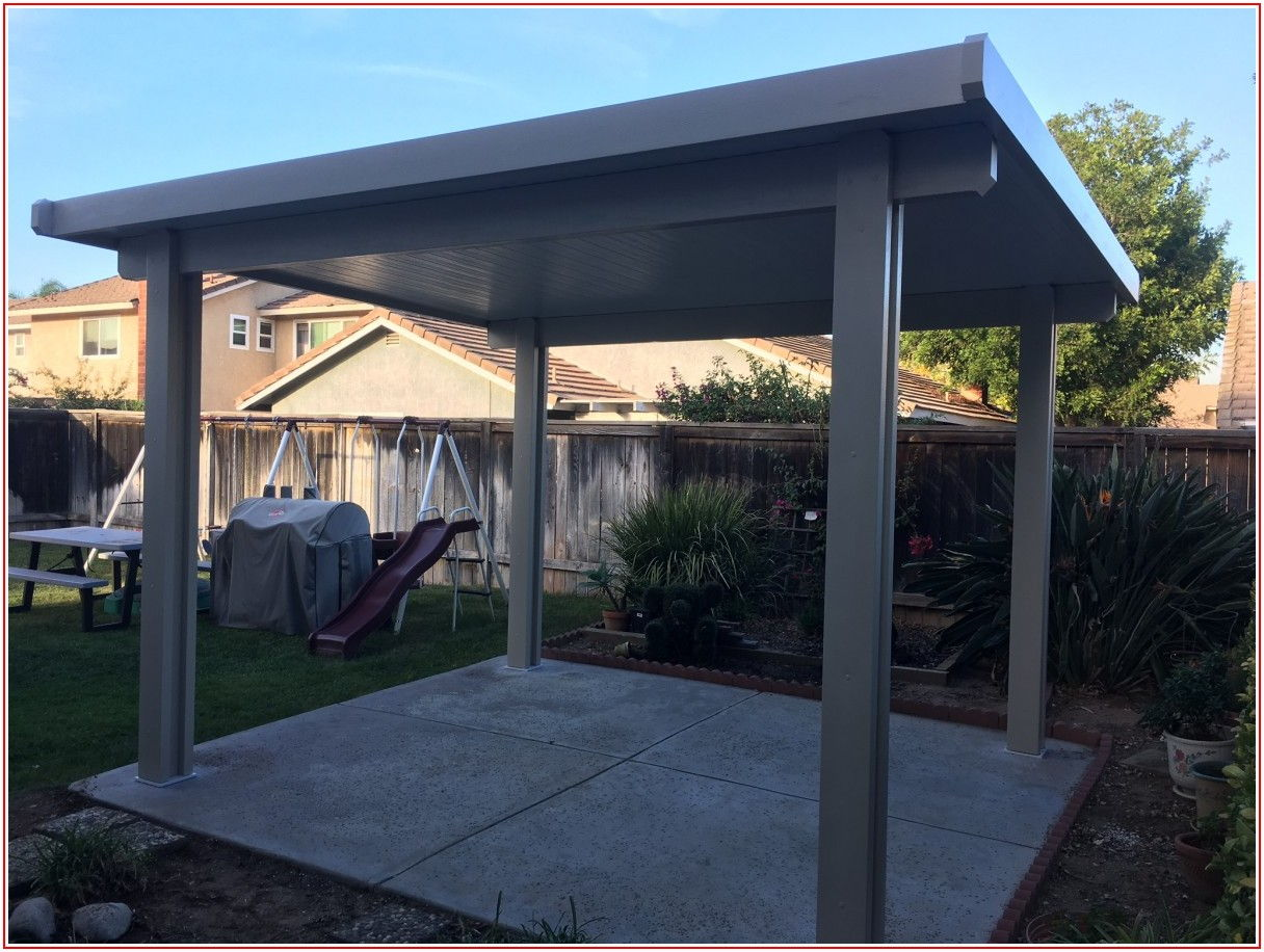 Aluminum Patio Cover Gutter
