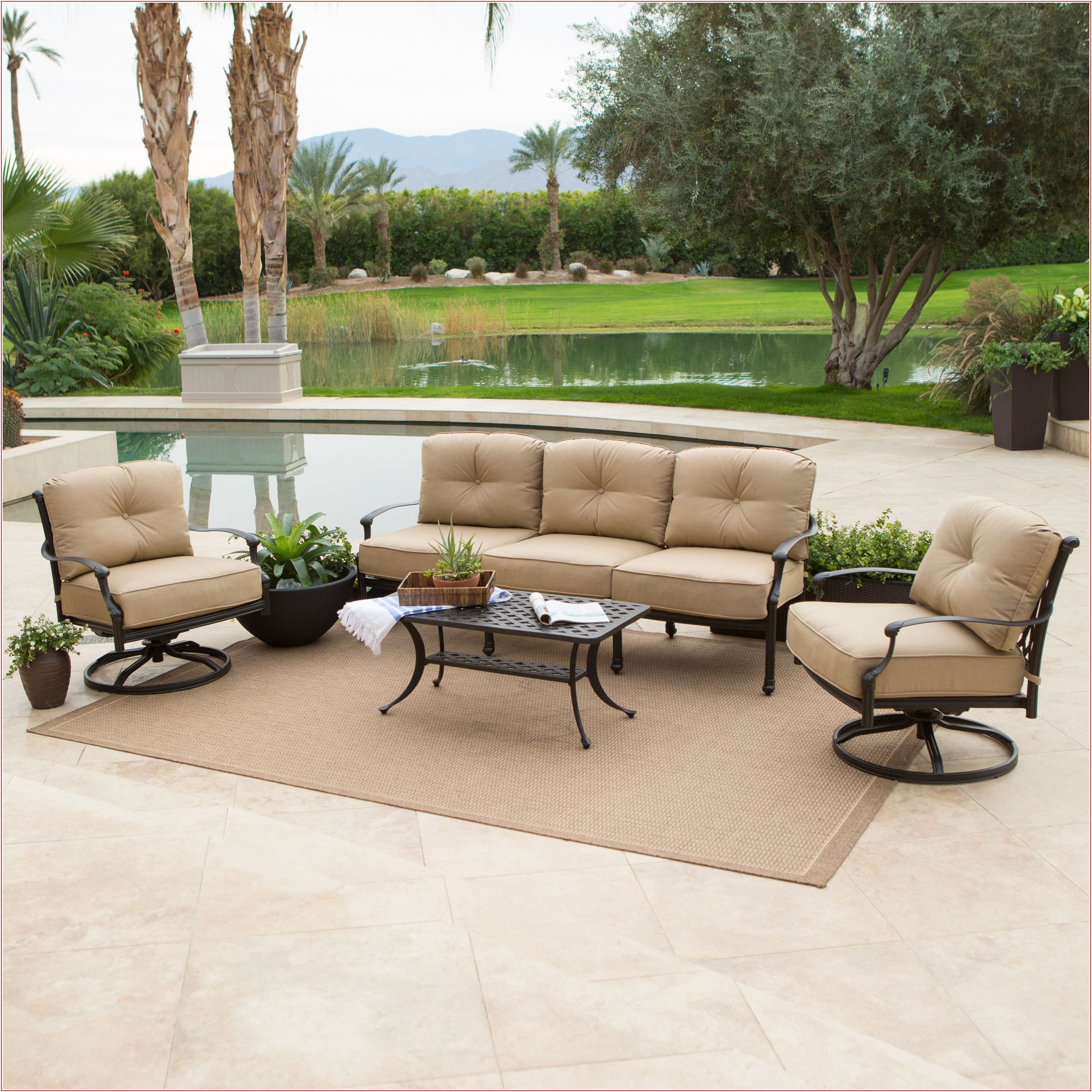 Aluminum Patio Furniture With Sunbrella Cushions