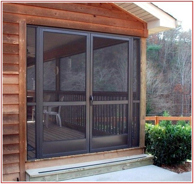 Aluminum Patio Screen Doors