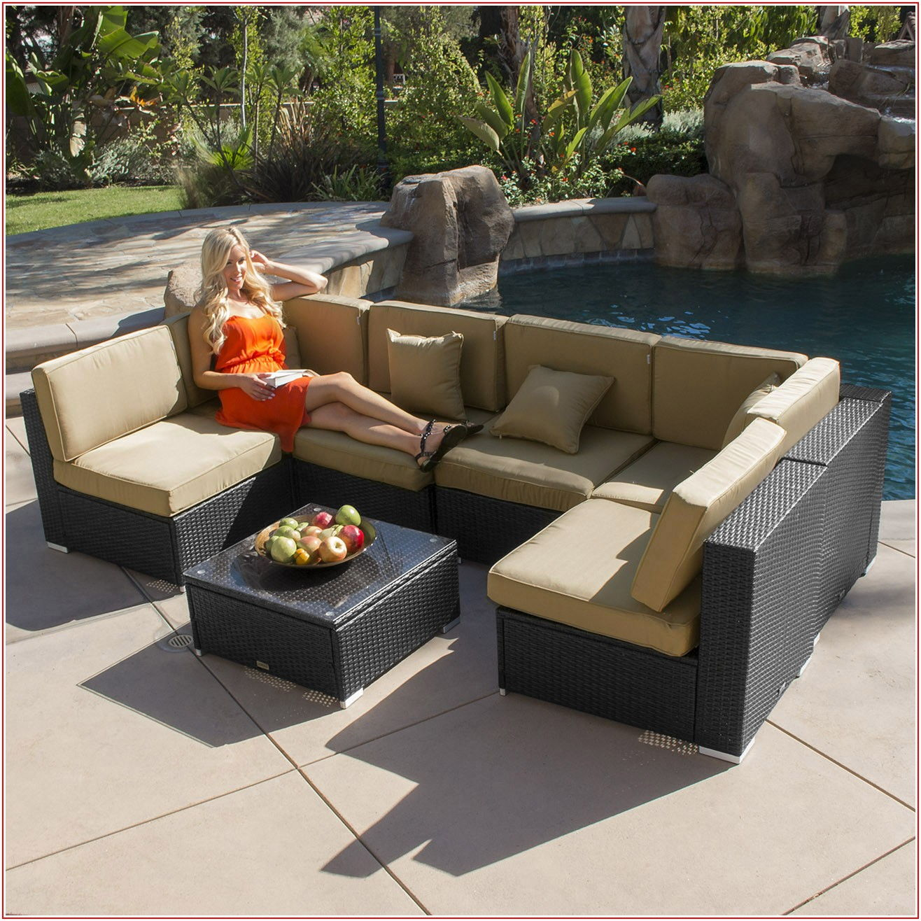 Aluminum Rattan Patio Furniture