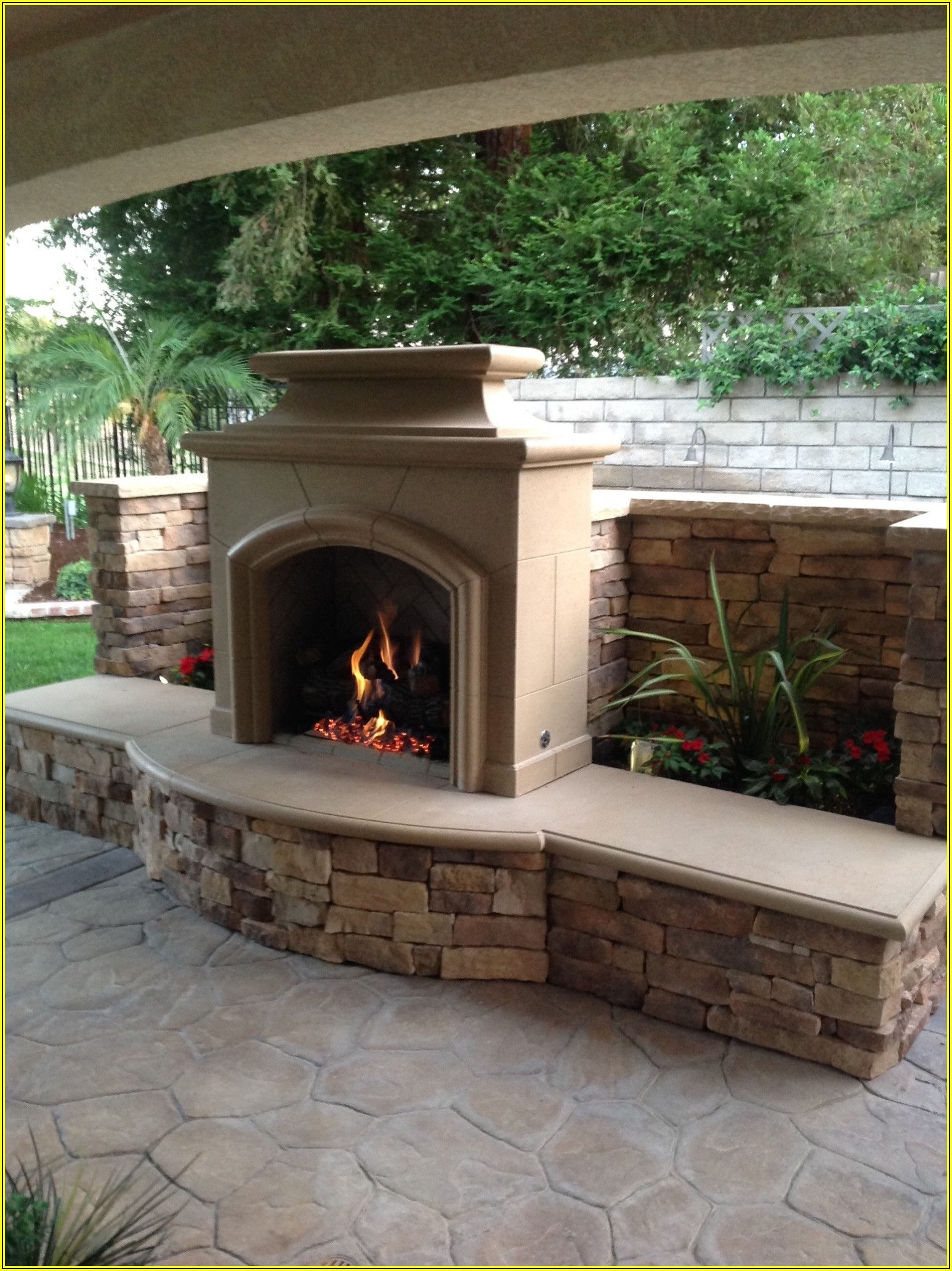 American Patio And Fireplace