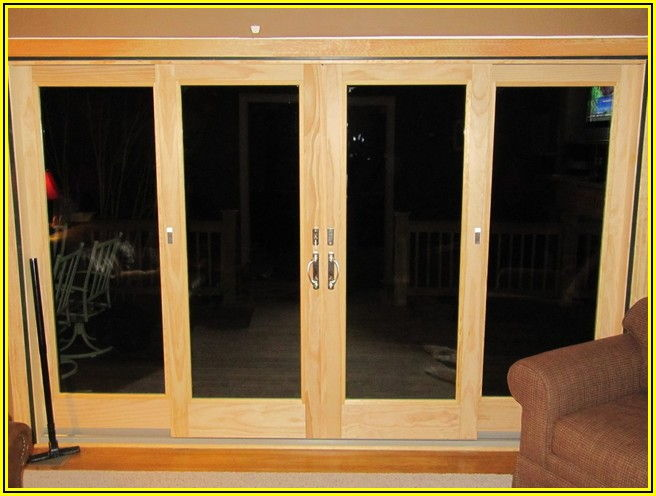 Andersen 4 Panel Sliding Patio Doors