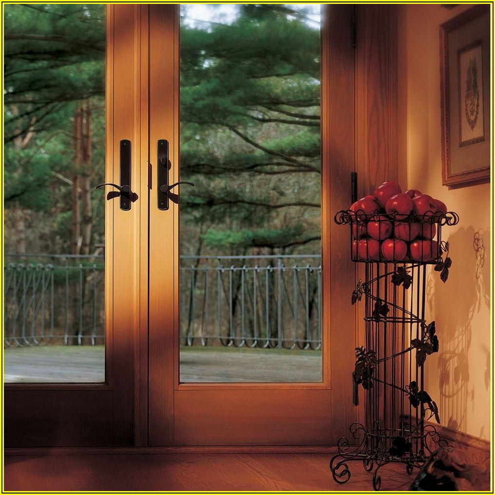 Andersen 400 Series Frenchwood Gliding Patio Door Home Depot