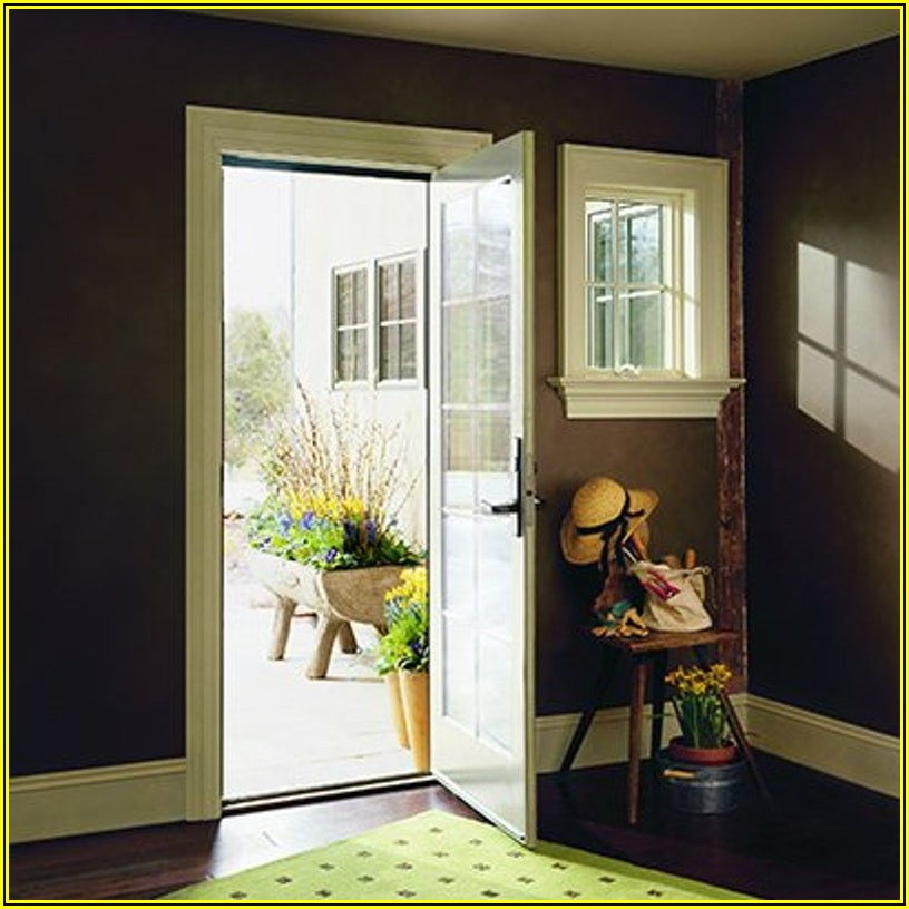 Andersen Single Hinged Patio Door