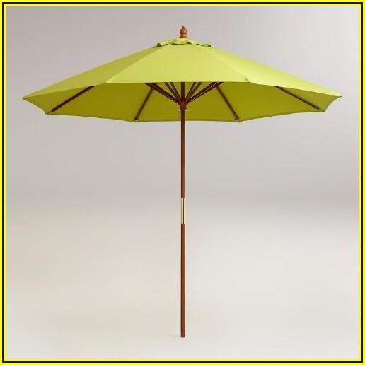 Apple Green Patio Umbrella