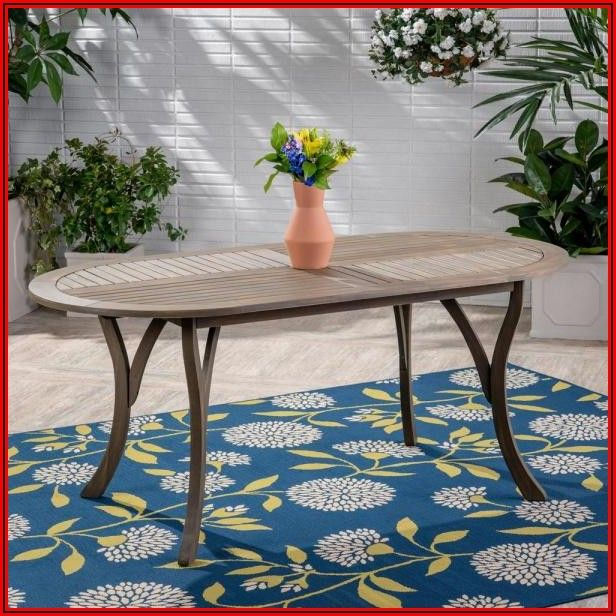 Arlington House Jackson Oval Patio Dining Table