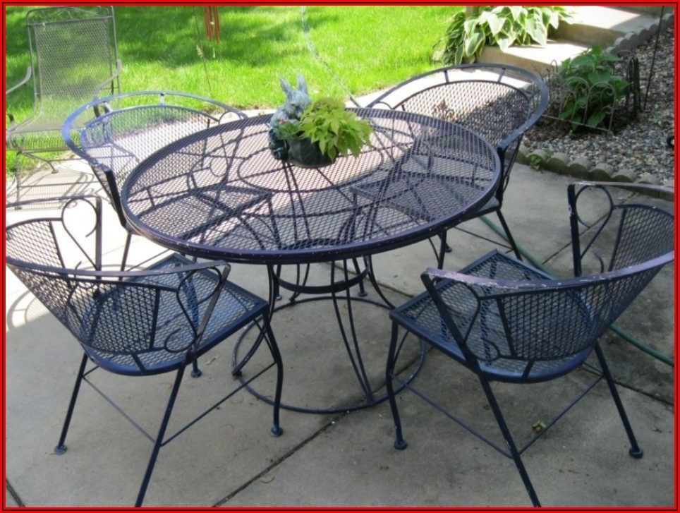 Arlington House Wrought Iron Patio Furniture