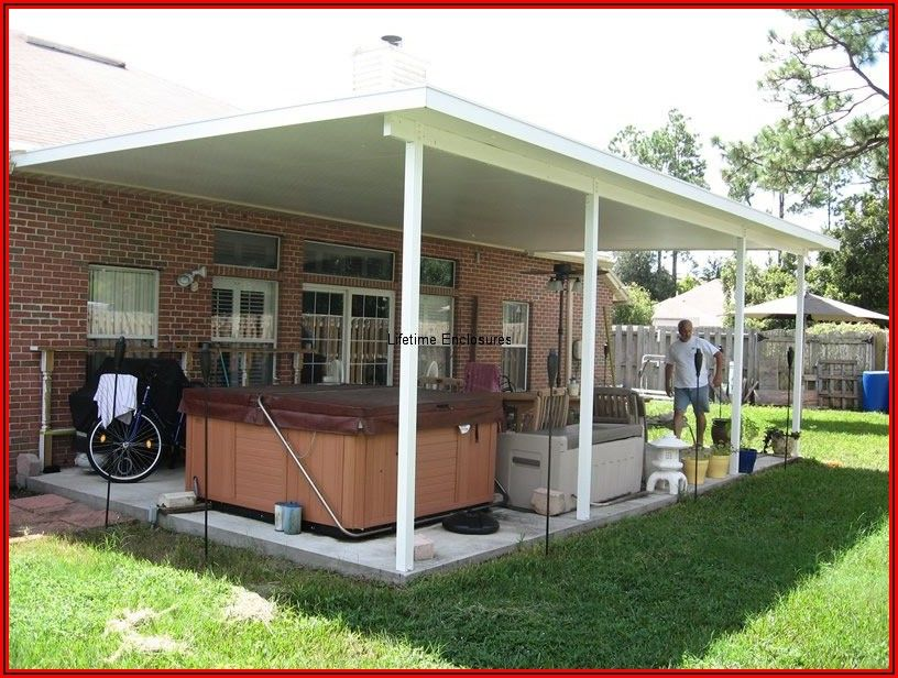Arrow Free Standing Patio Cover Carport