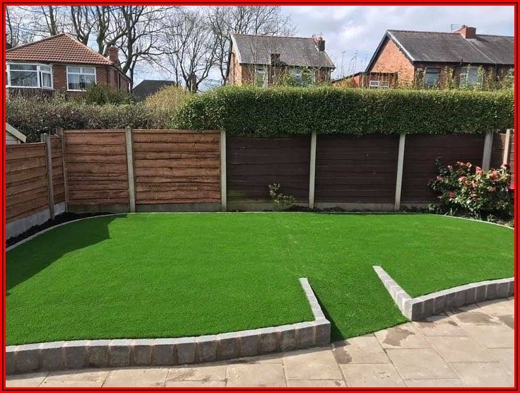 Artificial Turf Over Concrete Patio