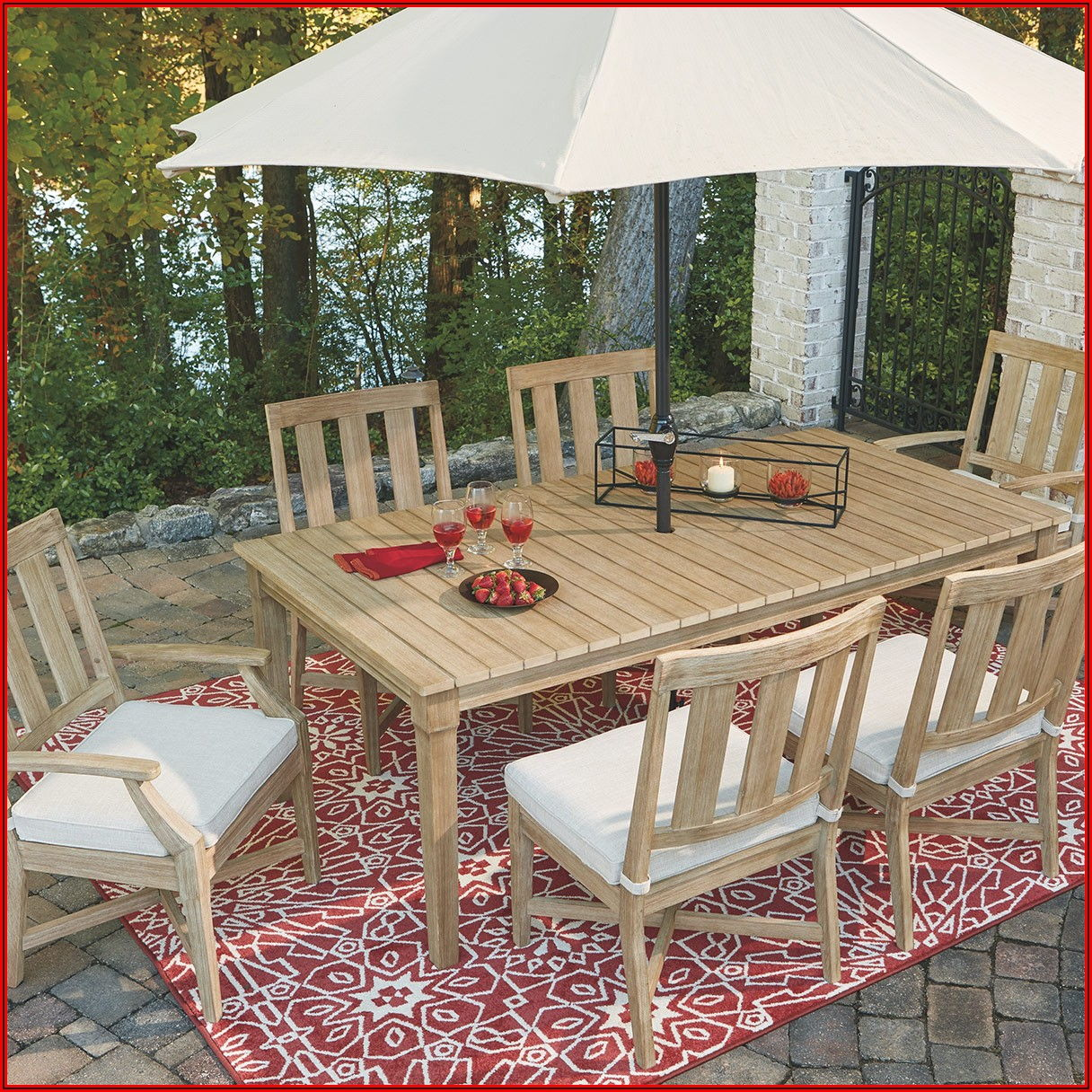 Ashley Furniture Patio Table